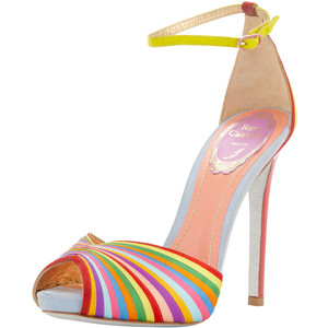 20 Mind-blowing Multi Color Sandals 2015 20 Mind-blowing Multi Color Sandals 2015 multi color sandal 4