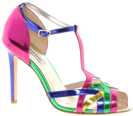 20 Mind-blowing Multi Color Sandals 2015 20 Mind-blowing Multi Color Sandals 2015 multi color sandal 5