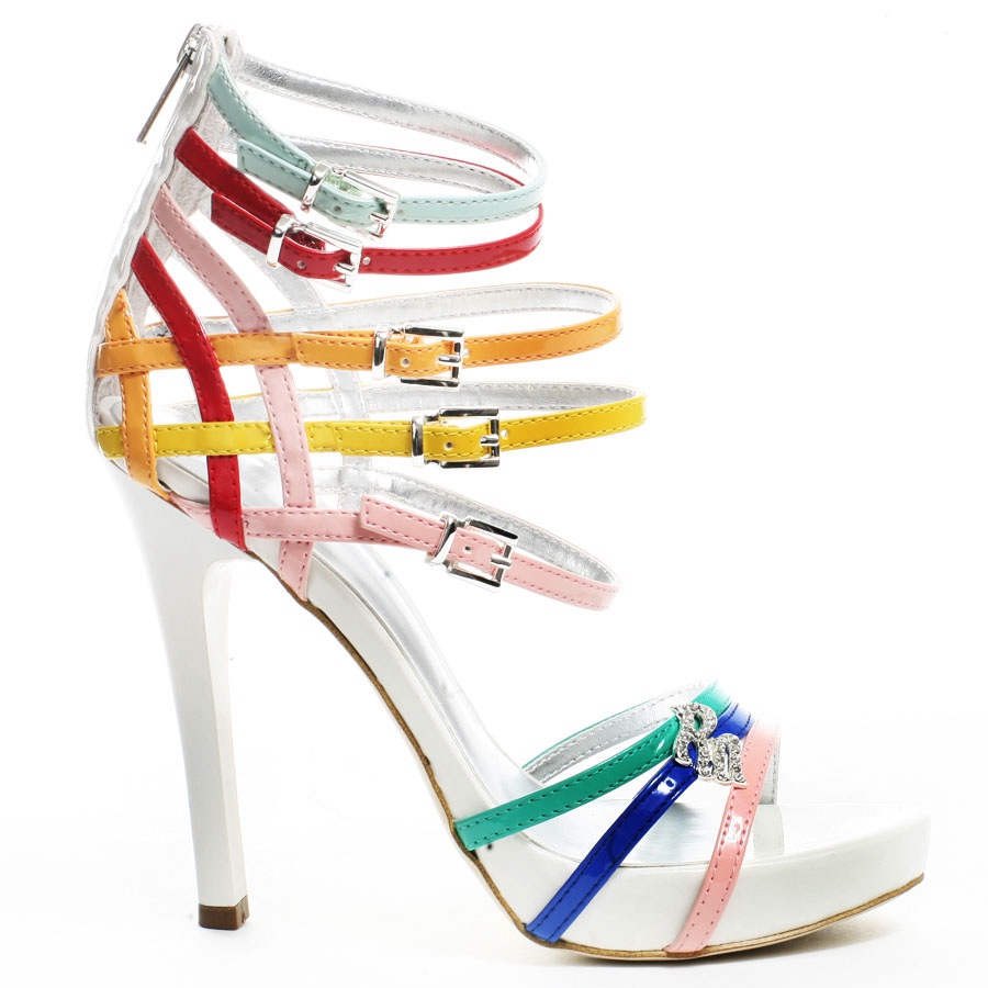 20 Mind-blowing Multi Color Sandals 2015 20 Mind-blowing Multi Color Sandals 2015 multi color sandal 8