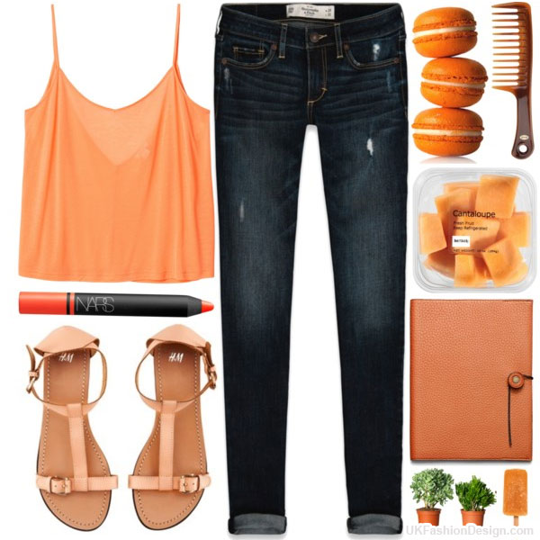 orange-outfits-polyvore---10 30 Stylish Orange Outfit ideas at Polyvore 2015 30 Stylish Orange Outfit ideas at Polyvore 2015 orange outfits polyvore 10