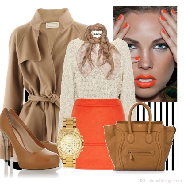 outfit-ideas-orange-color--12 30 Stylish Orange Outfit ideas at Polyvore 2015 30 Stylish Orange Outfit ideas at Polyvore 2015 outfit ideas orange color 12
