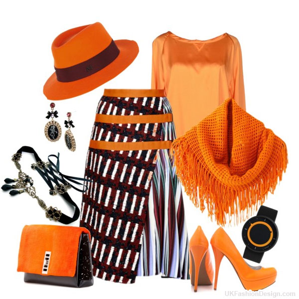 outfit-ideas-orange-color--17 30 Stylish Orange Outfit ideas at Polyvore 2015 30 Stylish Orange Outfit ideas at Polyvore 2015 outfit ideas orange color 17