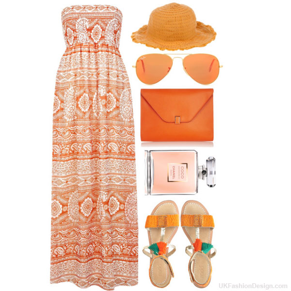 outfit-orange-color---30 30 Stylish Orange Outfit ideas at Polyvore 2015 30 Stylish Orange Outfit ideas at Polyvore 2015 outfit orange color 30