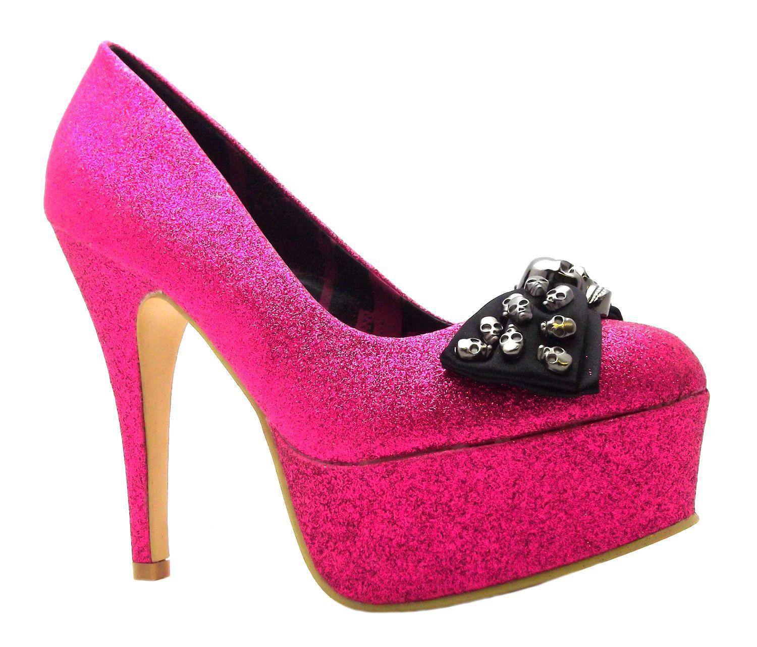 Cute and Stylish Pink High Heels for Girls