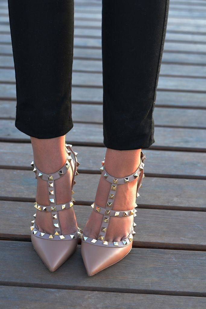 1 26 Stylish Studded Pumps High Heels 2015 26 Stylish Studded Pumps High Heels 2015 1