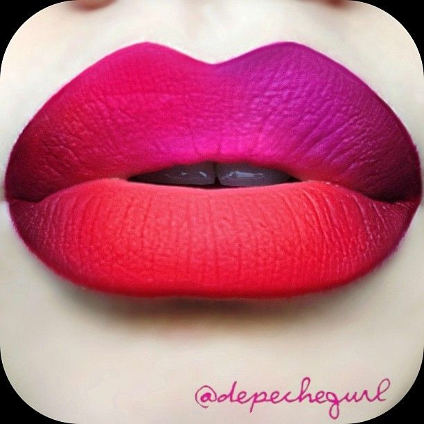 1 50 Sexy and Perfect Ombre Lips Makeup ideas 2015 50 Sexy and Perfect Ombre Lips Makeup ideas 2015 130