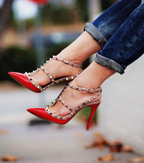 19 26 Stylish Studded Pumps High Heels 2015 26 Stylish Studded Pumps High Heels 2015 19
