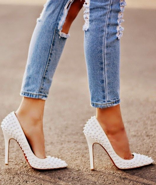 7 26 Stylish Studded Pumps High Heels 2015 26 Stylish Studded Pumps High Heels 2015 7