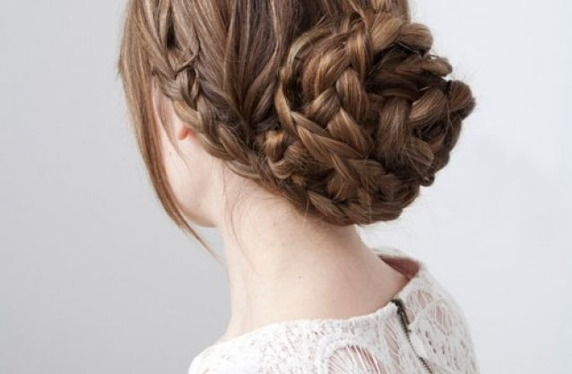 Braided-low-bun 15 Cute Easter Hairstyles for Girls 2015 15 Cute Easter Hairstyles for Girls 2015 Braided low bun