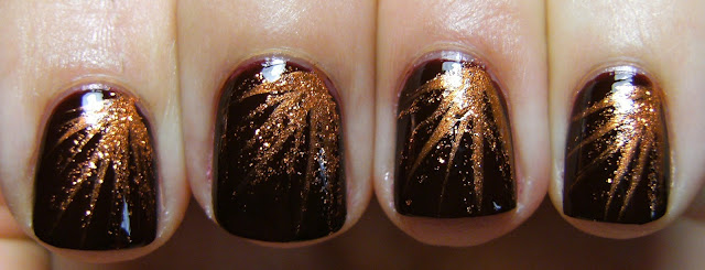 Brown Nail Designs 1 25 Best Brown Nail Designs 2015 you can try with matching dresses 25 Best Brown Nail Designs 2015 you can try with matching dresses Brown Nail Designs 1