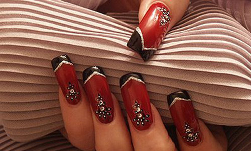 Brown Nail Designs 22 25 Best Brown Nail Designs 2015 you can try with matching dresses 25 Best Brown Nail Designs 2015 you can try with matching dresses Brown Nail Designs 22