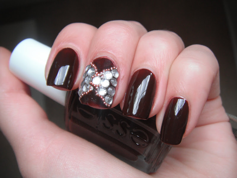 Brown Nail Designs 6 25 Best Brown Nail Designs 2015 you can try with matching dresses 25 Best Brown Nail Designs 2015 you can try with matching dresses Brown Nail Designs 6
