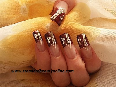 Brown Nail Designs 8 25 Best Brown Nail Designs 2015 you can try with matching dresses 25 Best Brown Nail Designs 2015 you can try with matching dresses Brown Nail Designs 8
