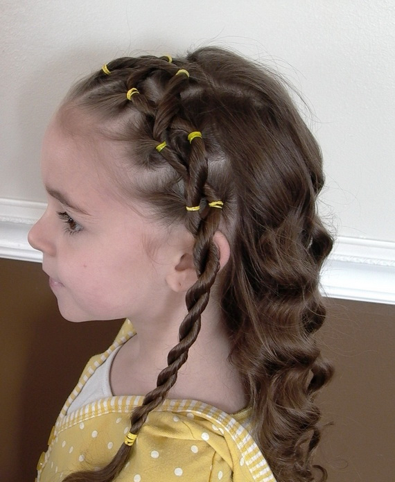 Stupendous Collection Cute Easter Hairstyles Pictures Happy Easter Day Hairstyles For Women Draintrainus