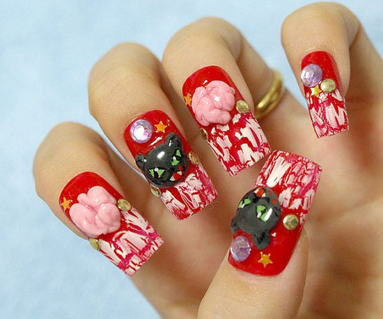 26 Best Halloween Nail Art Designs 2015 26 Best Halloween Nail Art Designs 2015 Halloween Nail Art Designs 10