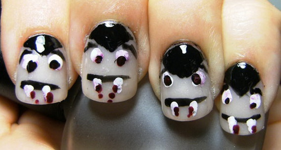 26 Best Halloween Nail Art Designs 2015 26 Best Halloween Nail Art Designs 2015 Halloween Nail Art Designs 11