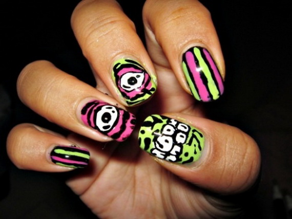 26 Best Halloween Nail Art Designs 2015 26 Best Halloween Nail Art Designs 2015 Halloween Nail Art Designs 14