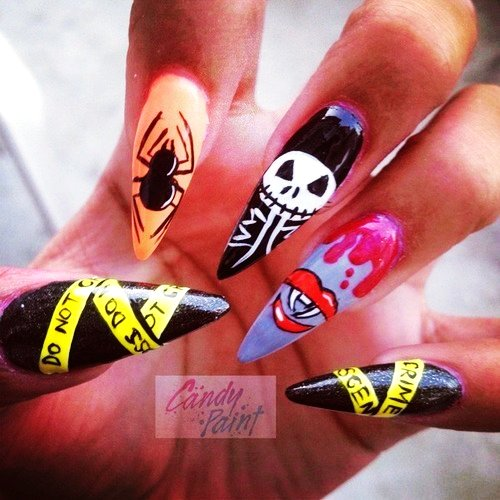 26 Best Halloween Nail Art Designs 2015 26 Best Halloween Nail Art Designs 2015 Halloween Nail Art Designs 24