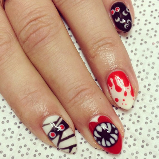 26 Best Halloween Nail Art Designs 2015 26 Best Halloween Nail Art Designs 2015 Halloween Nail Art Designs 27