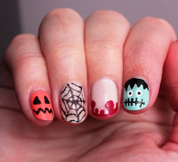 26 Best Halloween Nail Art Designs 2015 26 Best Halloween Nail Art Designs 2015 Halloween Nail Art Designs 29