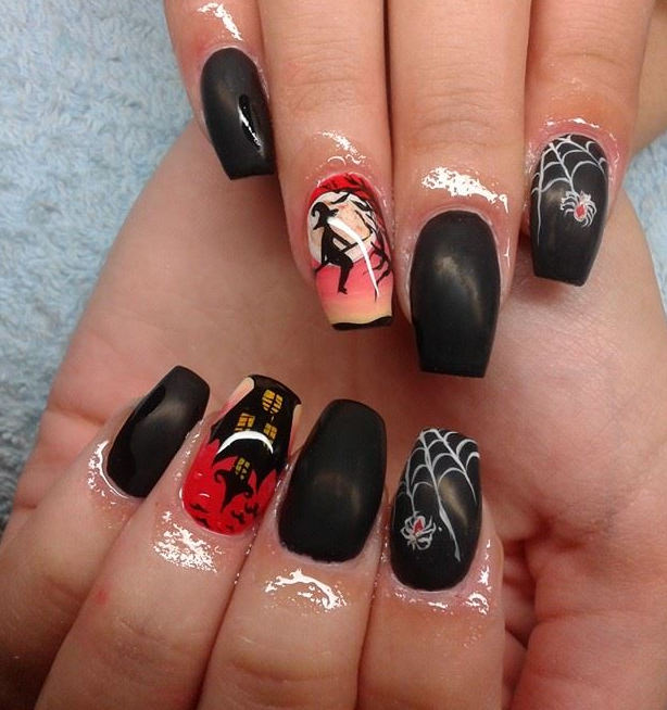 26 Best Halloween Nail Art Designs 2015 26 Best Halloween Nail Art Designs 2015 Halloween Nail Art Designs 31