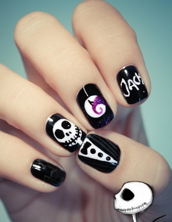 26 Best Halloween Nail Art Designs 2015 26 Best Halloween Nail Art Designs 2015 Halloween Nail Art Designs 7
