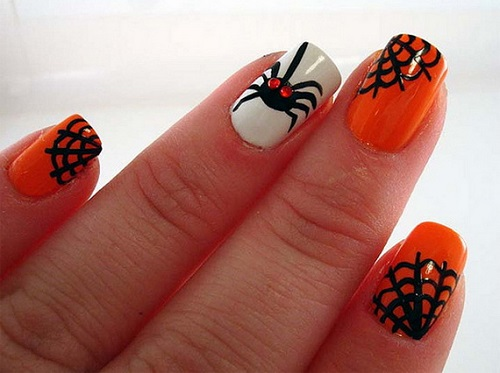 Nail Art Designs  Halloween  2015 26 Best Halloween Nail Art Designs 2015 26 Best Halloween Nail Art Designs 2015 Halloween Nail Art Designs 8