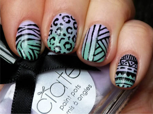 How-to-Gradient-nails-2 30 Easy Gradient Nail Art Ideas 2015 30 Easy Gradient Nail Art Ideas 2015 How to Gradient nails 2