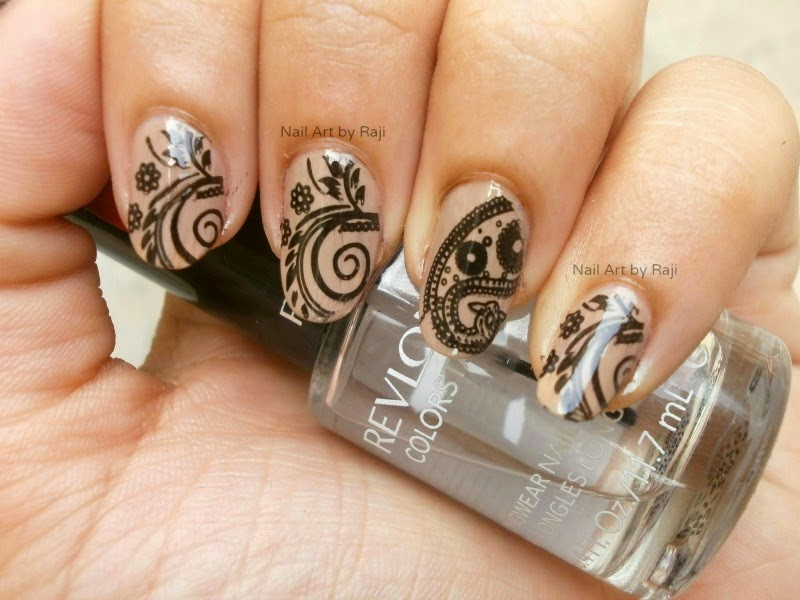 Nude nails 1 18 Beautiful Stamping Nail Art Design ideas 2015 18 Beautiful Stamping Nail Art Design ideas 2015 Nude nails 1