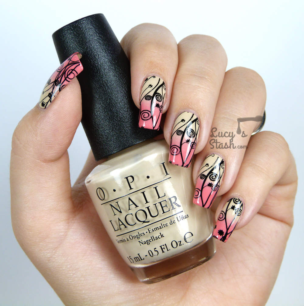 Nude nails 13 18 Beautiful Stamping Nail Art Design ideas 2015 18 Beautiful Stamping Nail Art Design ideas 2015 Nude nails 13