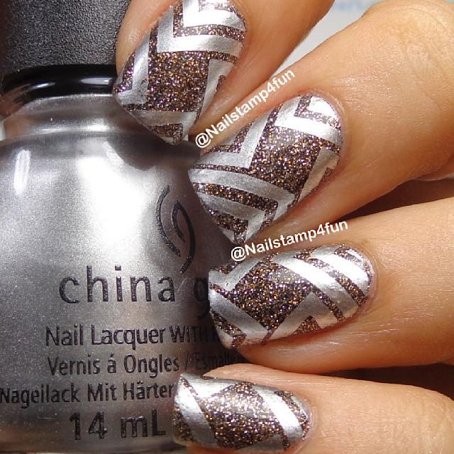 Nude nails 19 18 Beautiful Stamping Nail Art Design ideas 2015 18 Beautiful Stamping Nail Art Design ideas 2015 Nude nails 19