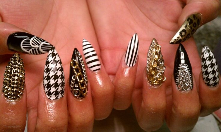 Stiletto Nail Designs 13 30 Unique Stiletto Nail Designs 2015 30 Unique Stiletto Nail Designs 2015 Stiletto Nail Designs 13