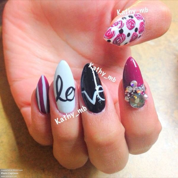 Stiletto Nail Designs 22 30 Unique Stiletto Nail Designs 2015 30 Unique Stiletto Nail Designs 2015 Stiletto Nail Designs 22