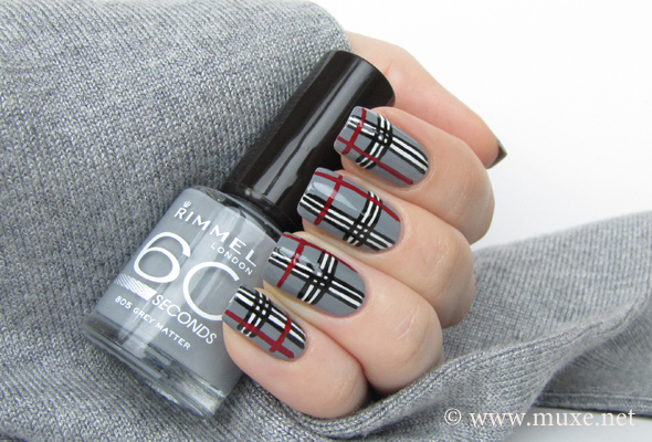 Nail Art Designs Stripes Splendid Wedding Company