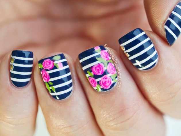 Striped Nail Art Designs 25 30 Unique Striped Nail Art Designs 2015 30 Unique Striped Nail Art Designs 2015 Striped Nail Art Designs 251