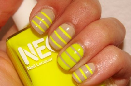 30 Unique Striped Nail Art Designs 2015 30 Unique Striped Nail Art Designs 2015 30 Unique Striped Nail Art Designs 2015 Striped Nail Art Designs 41