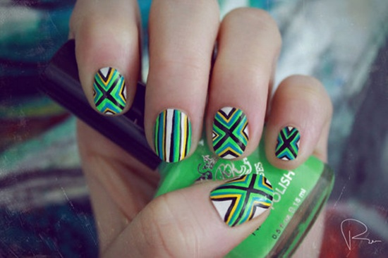30 Unique Striped Nail Art Designs 2015 30 Unique Striped Nail Art Designs 2015 30 Unique Striped Nail Art Designs 2015 Striped Nail Art Designs 51