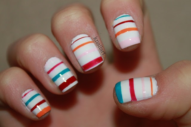 Striped Nail Art Designs 9 30 Unique Striped Nail Art Designs 2015 30 Unique Striped Nail Art Designs 2015 Striped Nail Art Designs 91