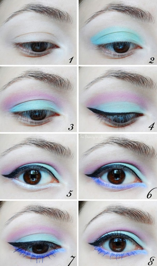Stunning-Makeup-Ideas-With-Pastel-Colors 32 Gorgeous Pastel Eye Makeup ideas 2015 32 Gorgeous Pastel Eye Makeup ideas 2015 Stunning Makeup Ideas With Pastel Colors