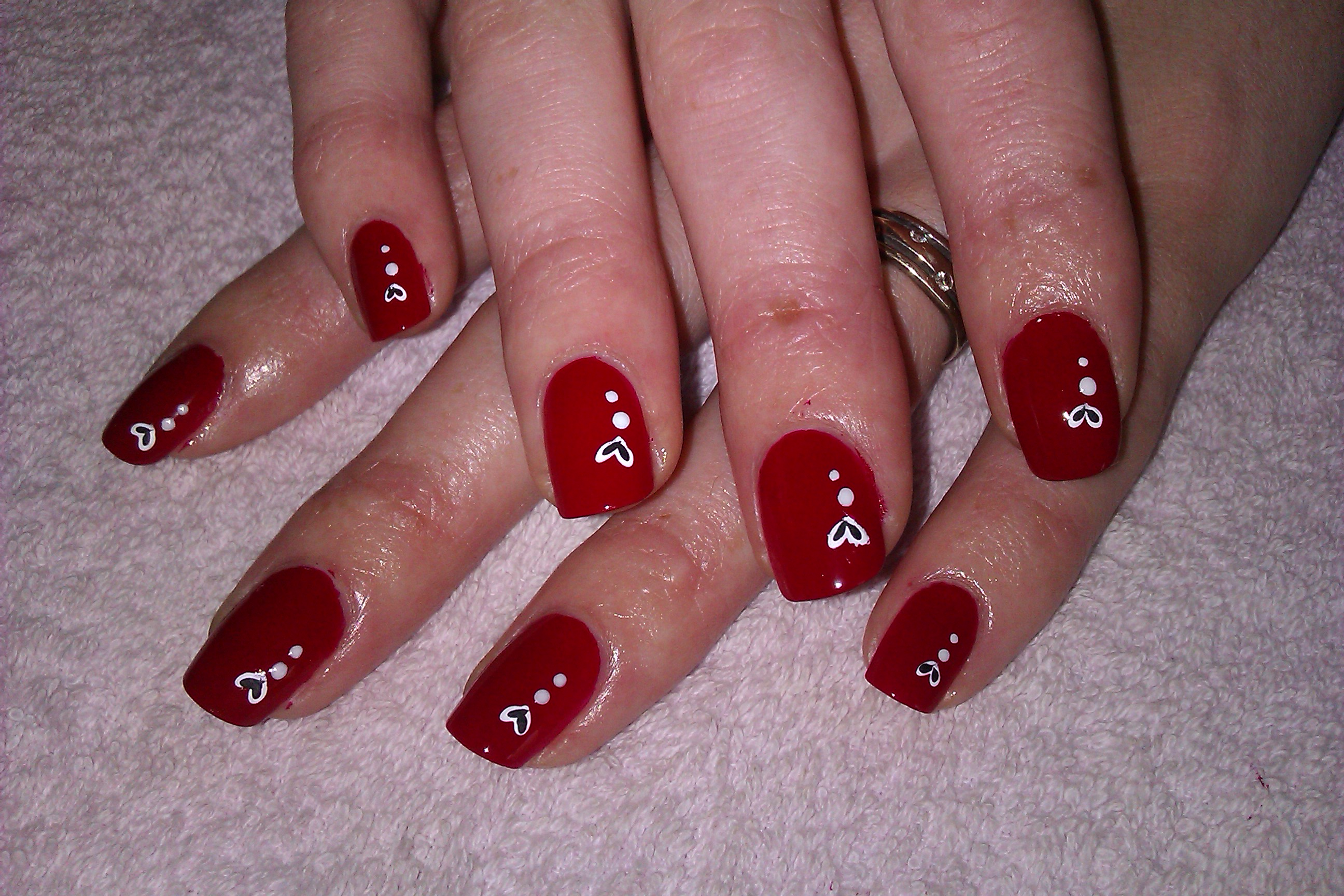 Nail art wedding red nail art view images beautiful wedding nail art designs prinsesfo Gallery