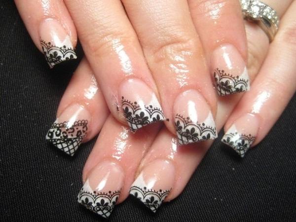 nail designs for weddings