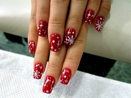 30 best acrylic nail designs christmas 201516 prinsesfo Gallery