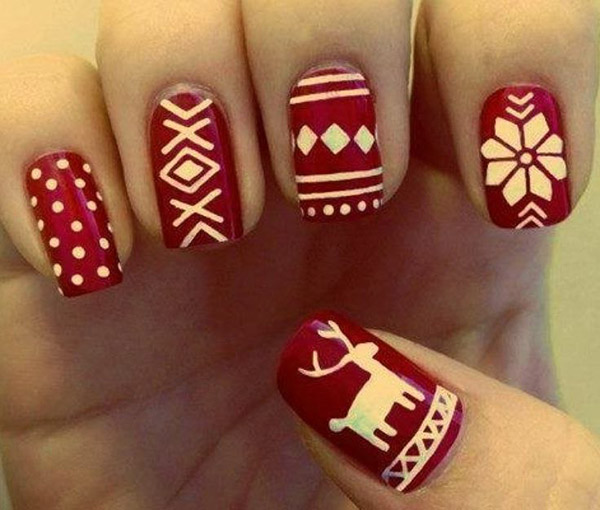 acrylic nail designs 12 30 Best Acrylic Nail Designs Christmas 2015/16 30 Best Acrylic Nail Designs Christmas 2015/16 acrylic nail designs 12