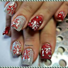 acrylic nail designs 18 30 Best Acrylic Nail Designs Christmas 2015/16 30 Best Acrylic Nail Designs Christmas 2015/16 acrylic nail designs 18