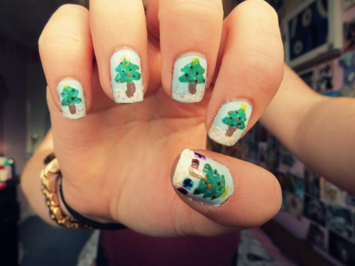 acrylic nail designs 23 30 Best Acrylic Nail Designs Christmas 2015/16 30 Best Acrylic Nail Designs Christmas 2015/16 acrylic nail designs 23