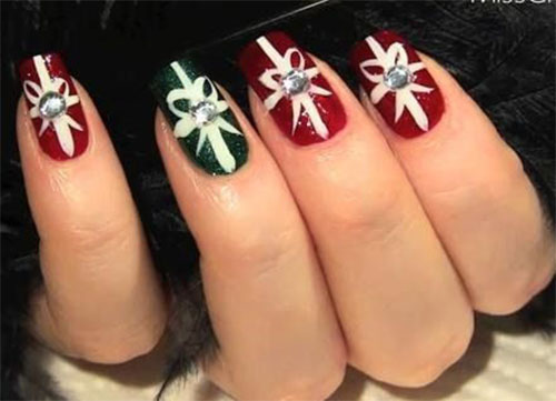 30 best acrylic nail designs christmas 201516 acrylic nail designs 7 30 best acrylic nail designs christmas 201516 30 best acrylic prinsesfo Images