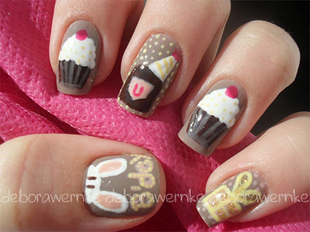 birthday nail art designs 20 30 Easy Birthday Nail Art Designs 2015 30 Easy Birthday Nail Art Designs 2015 birthday nail art designs 201