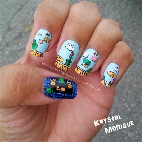 birthday nail art designs 24 30 Easy Birthday Nail Art Designs 2015 30 Easy Birthday Nail Art Designs 2015 birthday nail art designs 241