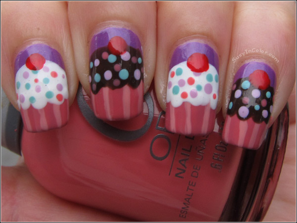 birthday nail art designs 25 30 Easy Birthday Nail Art Designs 2015 30 Easy Birthday Nail Art Designs 2015 birthday nail art designs 251