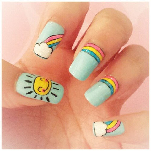 birthday nail art designs 6 30 Easy Birthday Nail Art Designs 2015 30 Easy Birthday Nail Art Designs 2015 birthday nail art designs 61